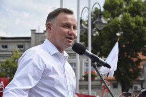 Prezydent Andrzej Duda w Mikstacie