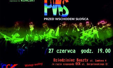 OCK zaprasza na koncert zespołu Przed Wschodem Słońca