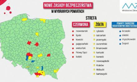 Powiat ostrzeszowski od jutra zielony