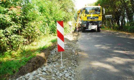 Remont drogi powiatowej w Biskupicach Zabarycznych