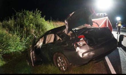 Ligota: Samochód dachował, nie żyje 16-latka