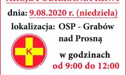 Zbiórka krwi w Grabowie