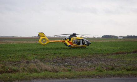 16-latek wymagał pomocy. Lądował śmigłowiec LPR.