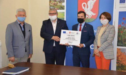 Milionowe dofinansowanie dla gminy Grabów nad Prosną FILM