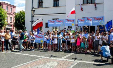 Rafał Trzaskowski z wizytą w Ostrzeszowie FILM