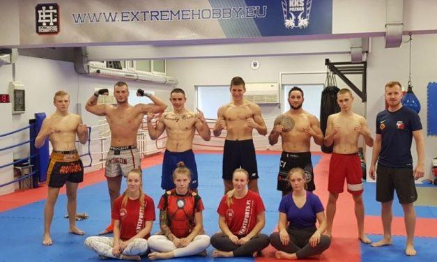 Zgrupowanie treningowe zawodników Kick-Boxing Club Poprava