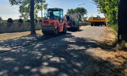 Ruszył remont drogi powiatowej Doruchów-Kępno. Kierowcy muszą liczyć się z utrudnieniami
