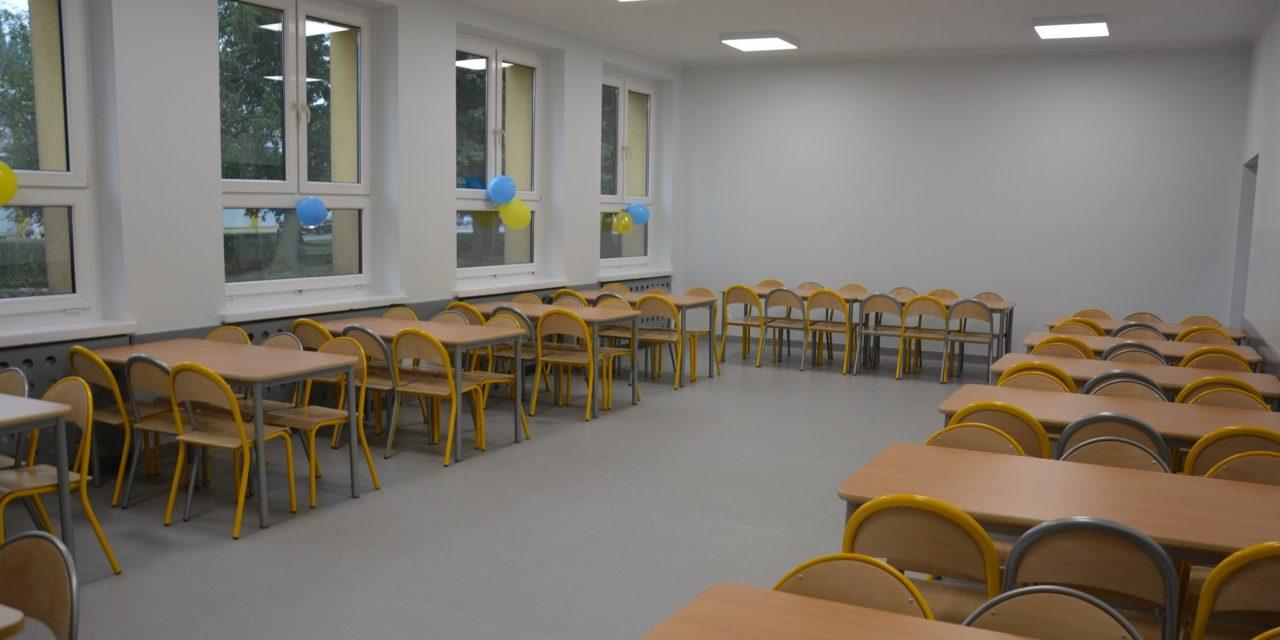 Nowa stołówka szkolna w Grabowie nad Prosną