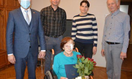 Pani Cecylia świętuje swoje 103. urodziny!