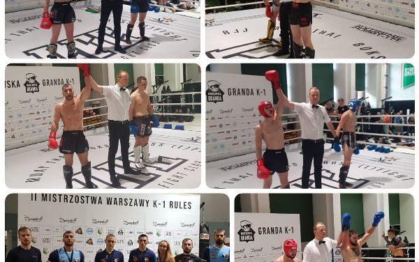 """Sukces zawodników Kick-Boxing Club Poprava na """"Warszawskiej Grandzie"""""""