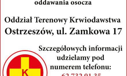 Apel do ozdrowieńców z powiatu ostrzeszowskiego. Oddawajcie swoje osocze
