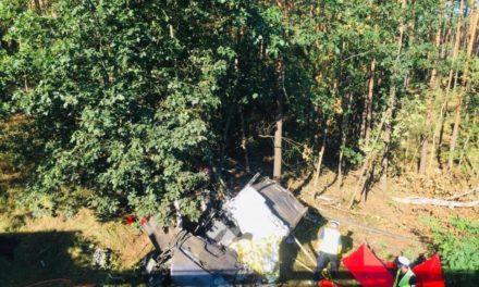 Tragiczny wypadek na DK11. Sprawca nie żyje, śledztwo umorzone
