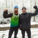 Dla ostrzeszowskich biegaczy żadna temperatura nie straszna
