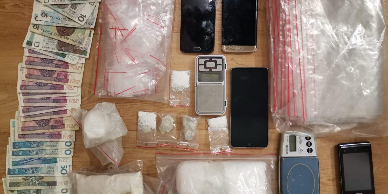Funkcjonariusze z Kępna przechwycili sporą ilość amfetaminy
