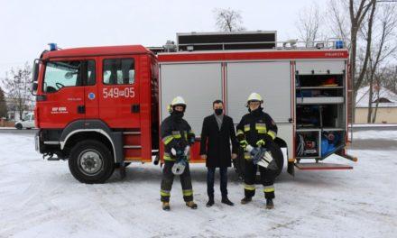 OSP w Grabowie nad Prosną otrzymała sprzęt hydrauliczny