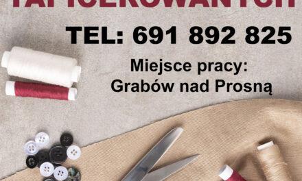 Oferta pracy w Grabowie nad Prosną!