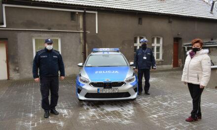 Policjanci mają nowy radiowóz