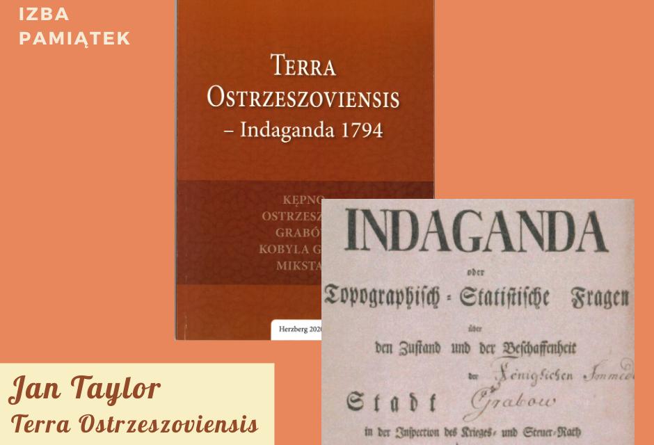 Terra Ostrzeszoviensis – Indaganda 1794