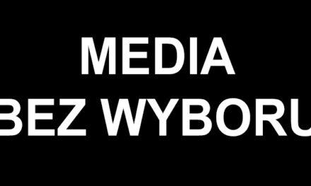 """""""Media bez wyboru"""". Trwa protest niezależnych mediów przeciwko podatkowi od reklam"""
