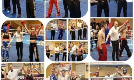 Udany początek sezonu zawodników Kick-Boxing Club Poprava