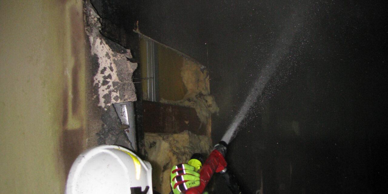 Pożar budynku gospodarczego w Ignacowie