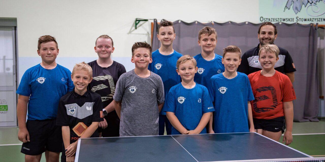 Wspieraj tenis stołowy w Ostrzeszowie!