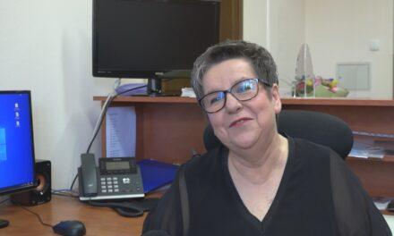 Anna Cwojdzińska żegna się z ostrzeszowskim ogólniakiem
