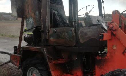 Pożar w Michałowie. Zapaliła się ładowarka