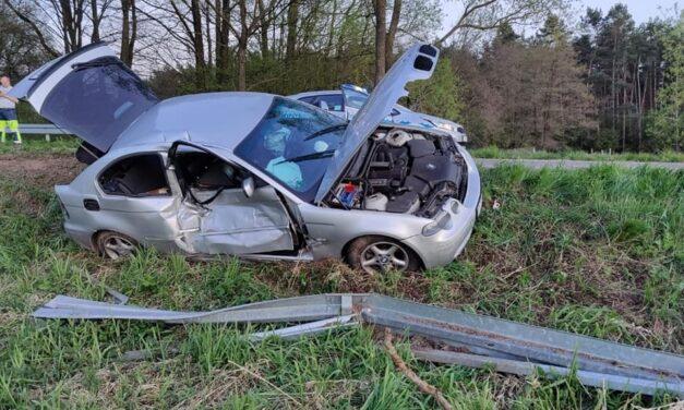 19-latek spowodował wypadek. 17-latek w szpitalu