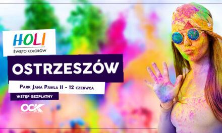 Holi Święto Kolorów już w najbliższą sobotę w Ostrzeszowie!