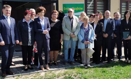 Klub Seniora w Mielcuchach oficjalnie otwarty