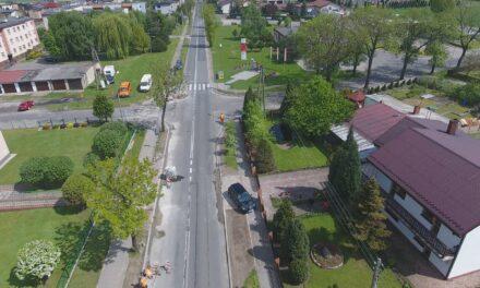 Trwa remont drogi wojewódzkiej w Doruchowie