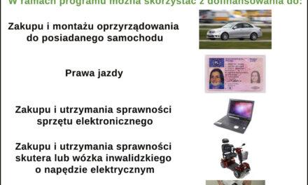 """Wnioski o dofinansowanie w ramach programu """"Aktywny Samorząd 2021"""""""
