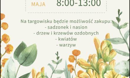 Zapraszamy na targ ogrodniczy w Ostrzeszowie!