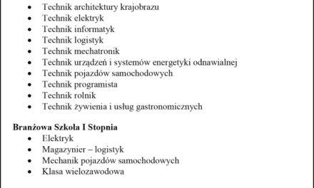 Oferta edukacyjna Zespołu Szkół nr 2 w Ostrzeszowie!
