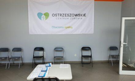 Nowa lokalizacja Punkt Szczepień Powszechnych w Ostrzeszowie