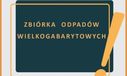Zbiórka odpadów wielkogabarytowych w Ostrzeszowie