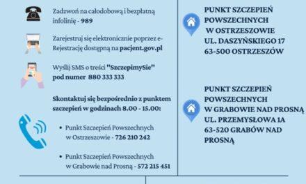 13 maja rusza punkt szczepień w Grabowie nad Prosną