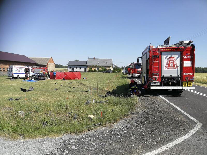 Tragiczny wypadek w Torzeńcu. Nie żyje jedna osoba (AKTUALIZACJA)