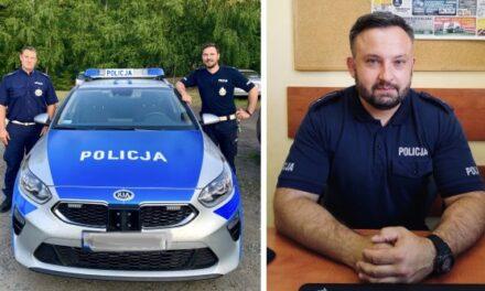 Policjanci pomogli nieprzytomnemu mężczyźnie