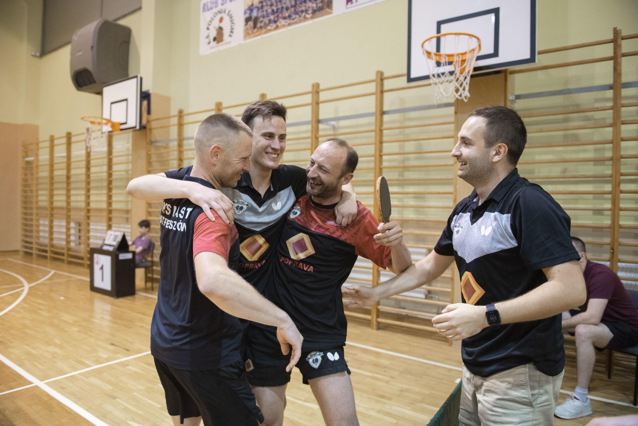 Coraz bliżej pierwszej ligi tenisa stołowego w Ostrzeszowie!