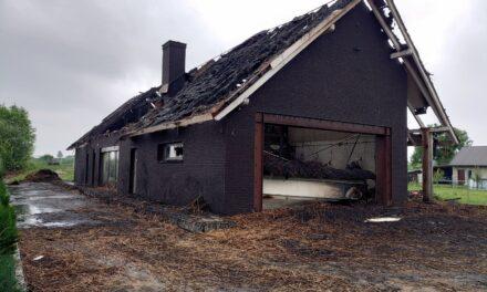 Piorun uderzył w dom. 4-osobowa rodzina została bez dachu nad głową