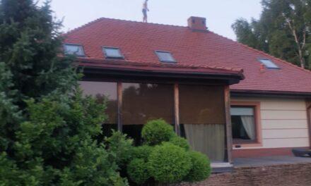 Włamywacz uciekł przed policją na dach