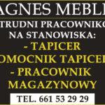 AGNES MEBLE zatrudni pracowników!