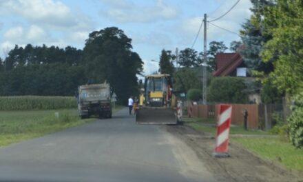 Ruszył remont drogi gminnej