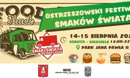 Ostrzeszowski Festiwal Smaków Świata już w weekend!