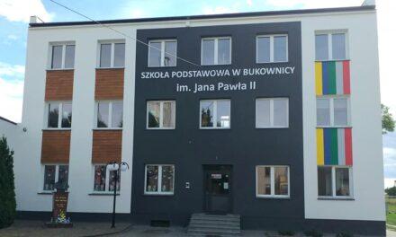 Szkoła Podstawowa w Bukownicy im. Jana Pawła II nabrała nowoczesnego wyglądu