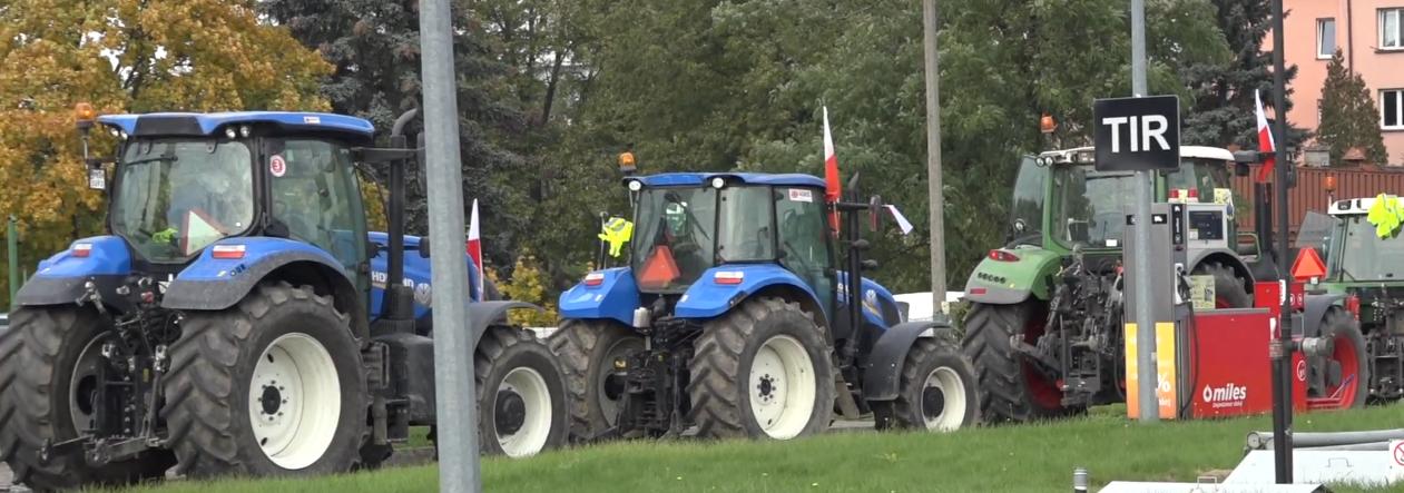"""Protest rolników. Zablokują krajową """"jedenastkę"""""""