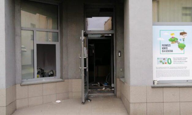 Wysadzono bankomat. Sprawcy uciekli
