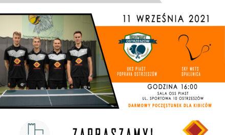 Inauguracja 2 ligi tenisa stołowego w Ostrzeszowie!